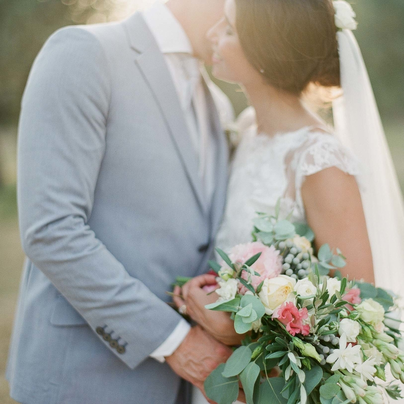 A Picturesque Wedding in the South of France
